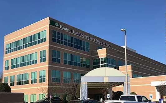 Baptist Health Springhill Medical Plaza building